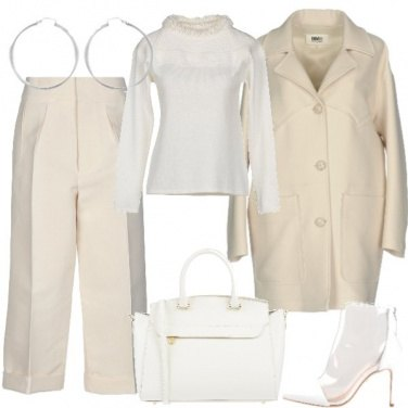 Outfit Winter white