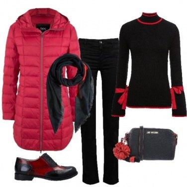 Outfit In giro per acquisti Natalizi