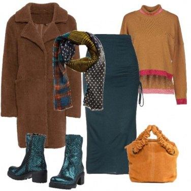 Outfit Urban con il cappotto