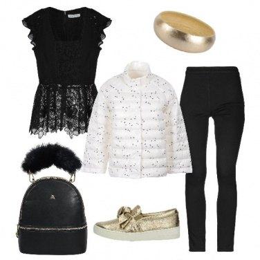Outfit Sportiva e fashion per le feste