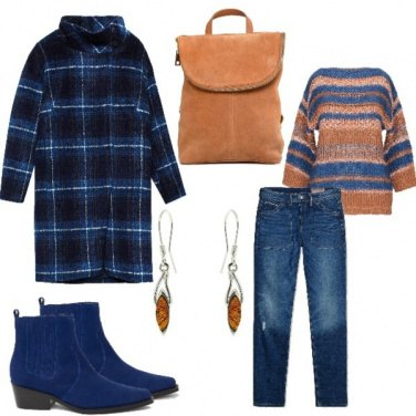 Outfit Total look con jeans