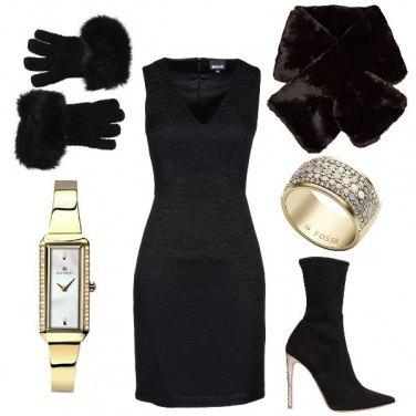 Outfit Evviva il tubino nero!