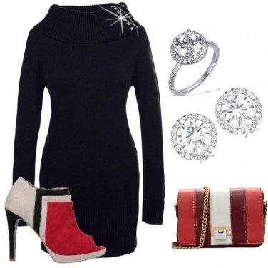 Outfit Semplice e d effetto