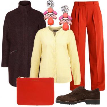 Outfit Spremuta di arancia