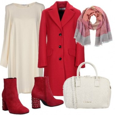 Outfit Rosso trendy