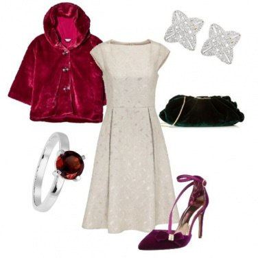 Outfit Cocktail natalizio
