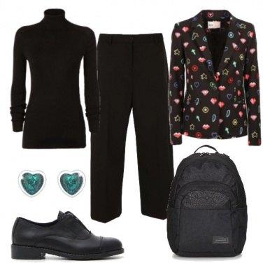 Outfit Non solo black