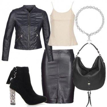 7e715fc22bb3 Rock style per tutti i giorni  outfit donna Rock per tutti i giorni ...