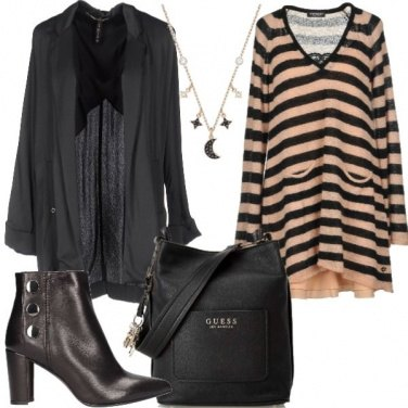 Outfit L\'abito a righe