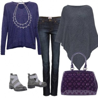 Outfit Tocco viola