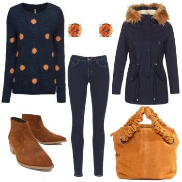 Outfit Basic In Blue