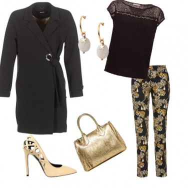 Outfit Natale d\'oro
