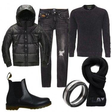 Outfit Biker Rock #424