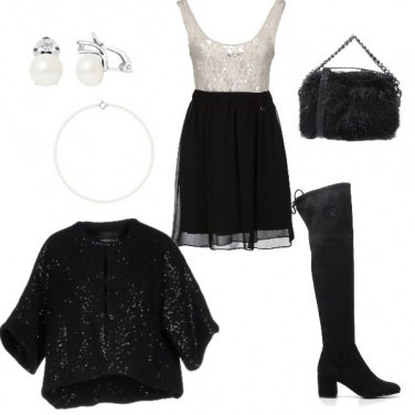 Outfit Natale chic
