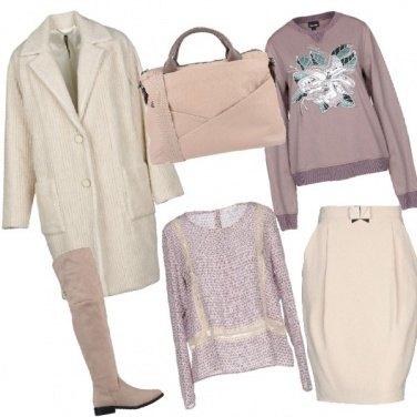 "Outfit Il cappotto ""vintage"" in flanella"
