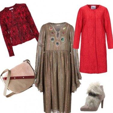 Outfit Mix e fantasia di stile