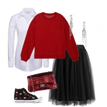 Outfit Natale low-cost