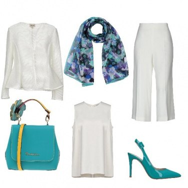 Outfit Chic total white.