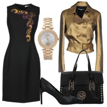 Outfit Versace collection