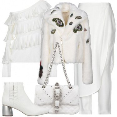Outfit Total white christmas