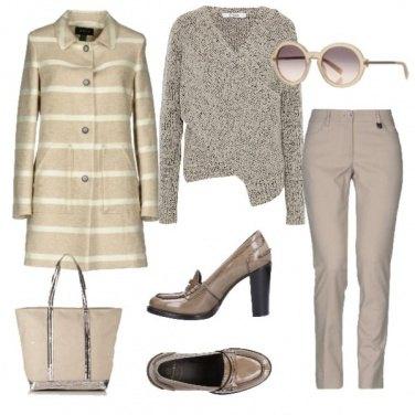 Outfit Maglioncino incrociato