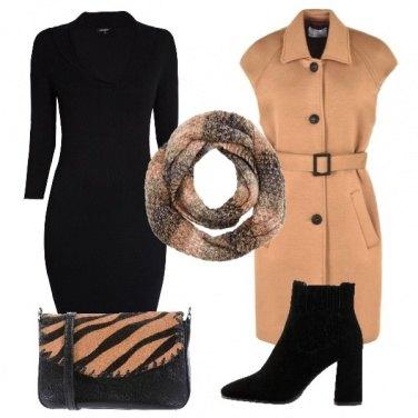 Outfit La borsetta animalier