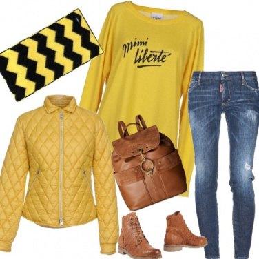 Outfit Il giorno dei gilet gialli