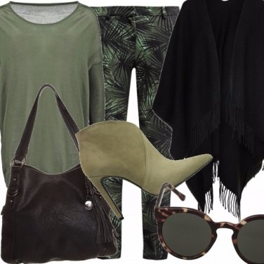 Outfit Tropical autumn