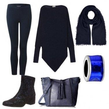 Outfit Maglione triangolo
