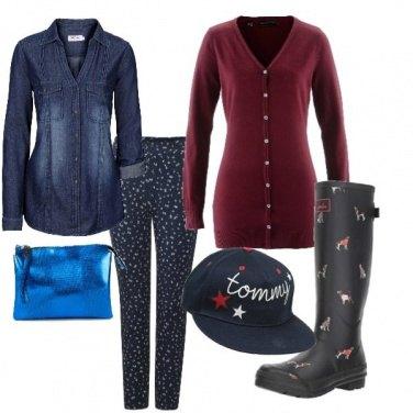 Outfit Stivali dog, contro la pioggia