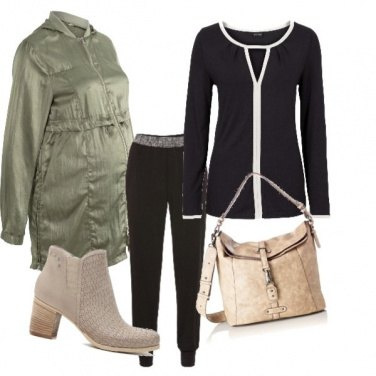 Outfit Premaman chic
