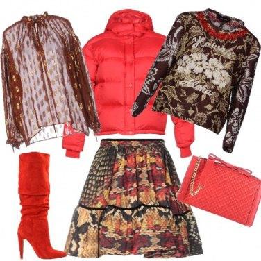 Outfit La mini animalier multicolor