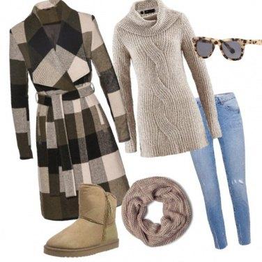 Outfit Giornata di sole invernale