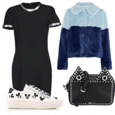 Outfit Black Glam