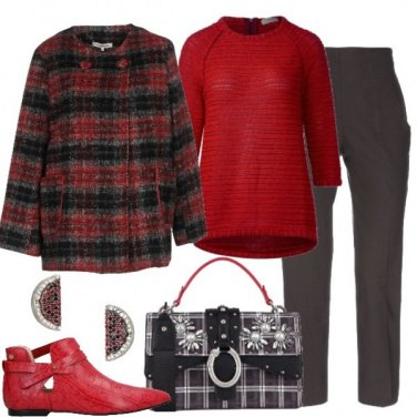 Outfit Rosso natalizio