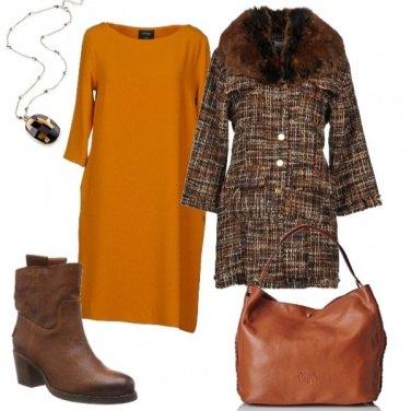 Outfit In giro per lo shopping natalizio