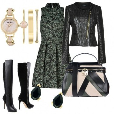 Outfit Verde Natale