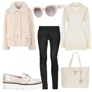 Outfit Avorio