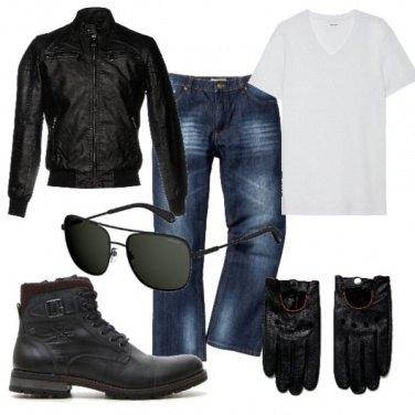 Outfit Biker Rock #435