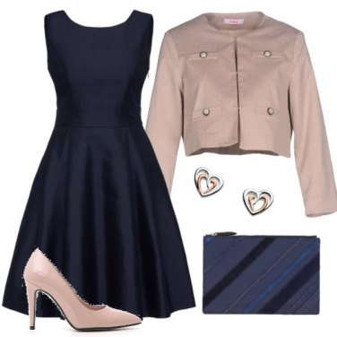 Outfit Natale in blu