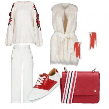 Outfit Red touch
