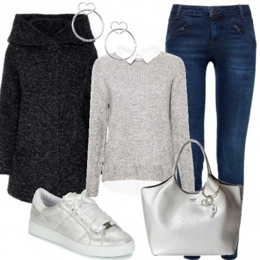 Outfit Silver details