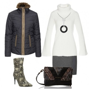Outfit Stivaletto animalier