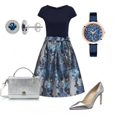 Outfit Un tocco d'argento