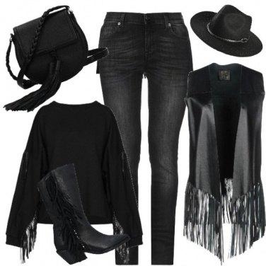Outfit Come una vera cowgirl