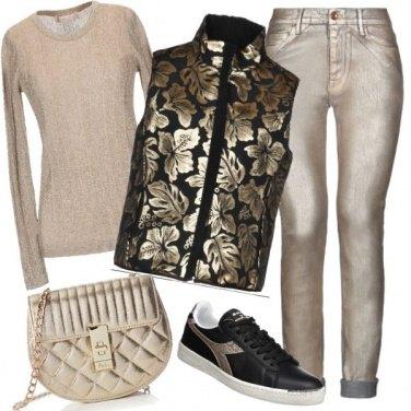 Outfit Sono davvero una ragazza d\'oro...