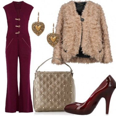 Outfit Chic in jumpsuit