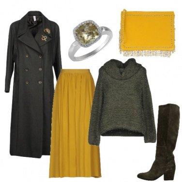 Outfit Il cappotto stile militare