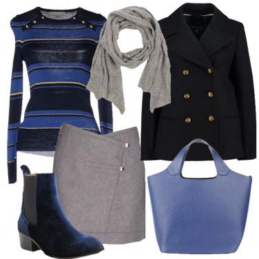 Outfit Comodamente in tono