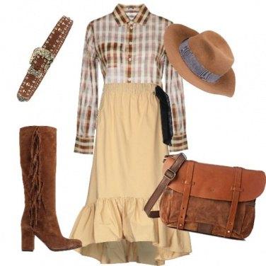 Outfit Cowgirl per un giorno